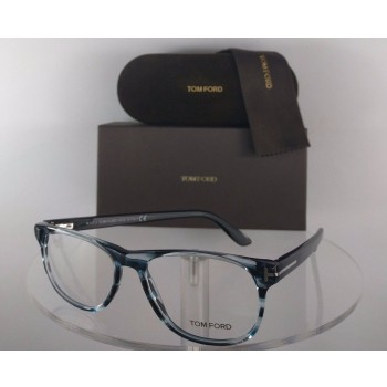 Tom Ford FT 5362 090 Blue Eyeglasses