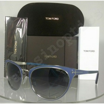 Tom Ford Nina TF0373 86Z Blue Sunglasses
