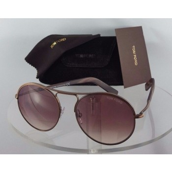 Tom Ford FT 449 Jessie 49T Bronze Sunglasses