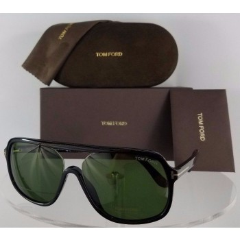 Tom Ford FT 442 Robert 01N Black Sunglasses