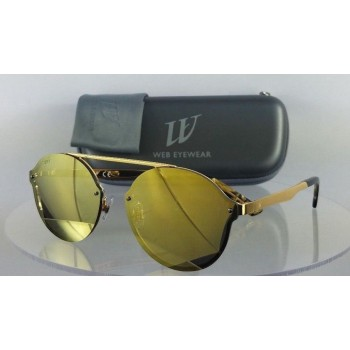 Web WE 0181 30G Gold Sunglasses