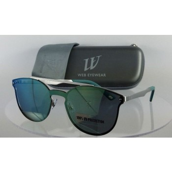 Web WE 0190 09Q Silver Sunglasses