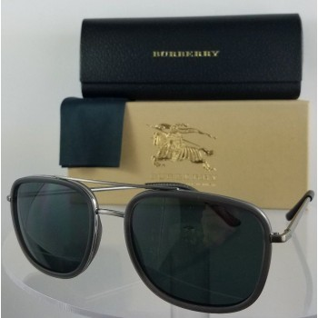 Burberry BE 3085 1087/5V Black Sunglasses
