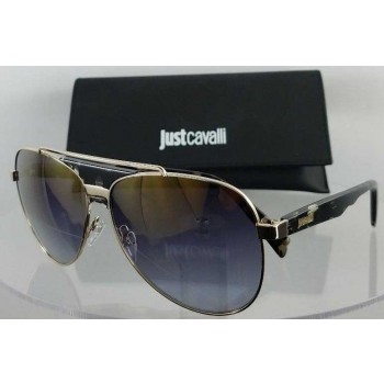 Just Cavalli JC828S 55C Gold Sunglasses