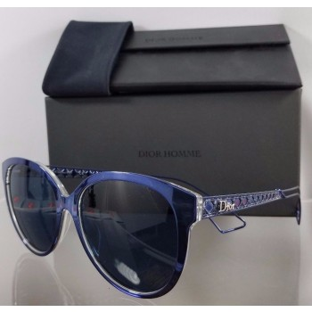 Christian Dior 2 TGVKU Blue Sunglasses