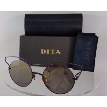 Dita Believer 23008-C-PUR Gold Sunglasses