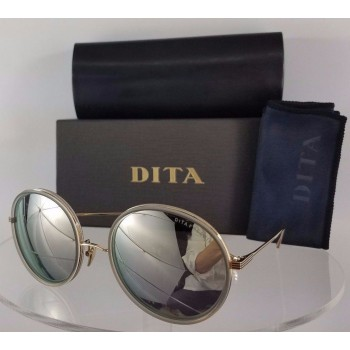 Dita Freebird 21012-E-GRY-GLD Gold Sunglasses