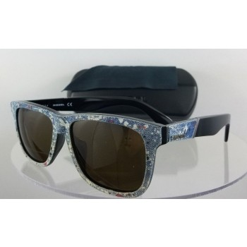 Diesel DL 0140-F 05E Black Sunglasses