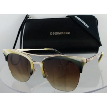 Dsquared 2 DQ 0251 Kris 64F Gold Sunglasses
