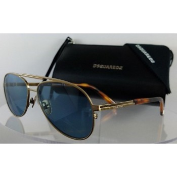 Dsquared 2 DQ 0280 Dean 34V Gold Sunglasses