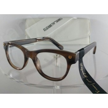 Elizabeth and James Meridian EJO 1139 Brown Eyeglasses