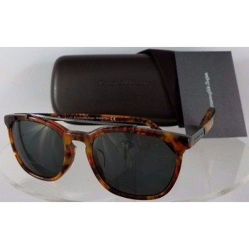 Ermenegildo Zegna EZ 0044 55N Brown Sunglasses