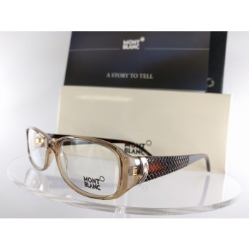 MONT Blanc MB 303 045 Brown Eyeglasses