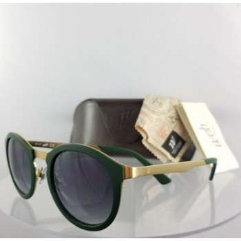 Brand New Authentic Web Sunglasses WE 0142 Col. 97B Green Gold 49mm 142 Frame