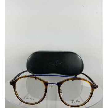 Brand New Authentic Ray Ban RB 7111 5692 Eyeglasses RB 7111 Tortoise Blue