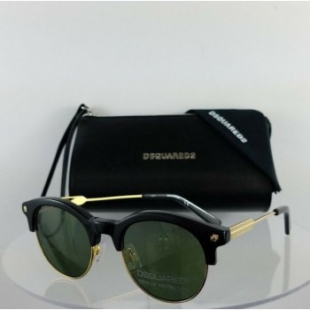 Brand New Authentic Dsquared2 Sunglasses DQ 0273 Connor 01N 47mm Frame DQ273