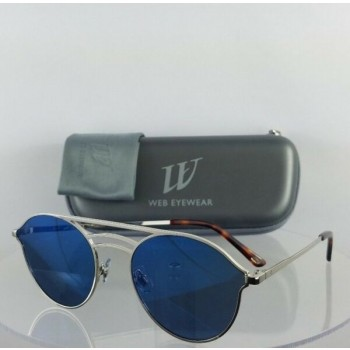 Brand New Authentic Web Sunglasses WE 207 Col. 16X Silver 55mm Frame