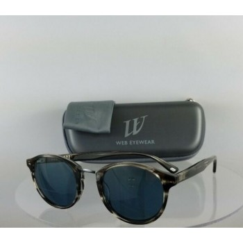 Brand New Authentic Web Sunglasses WE 168 Col. 20V Grey Charcoal 48mm Frame 0168