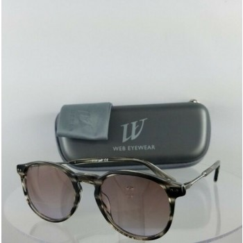 Brand New Authentic Web Sunglasses WE 177 Col. 20B Brown Grey 50mm Frame 0177