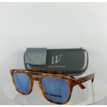 Brand New Authentic Web Sunglasses WE 166 Col. A53 Tortoise 51mm Frame 0166