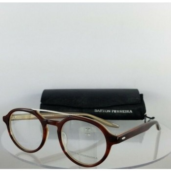 Brand New Authentic Barton Perreira Eyeglasses Bailey JRC AF 49mm Brown