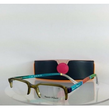 Brand New Authentic RONIT FURST RF1556 5A 48mm Hand painted Eyeglasses Frame