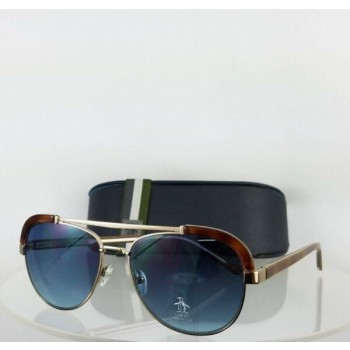 Brand New Authentic Penguin Sunglasses The Martin 55mm Tortoise Washed Gold