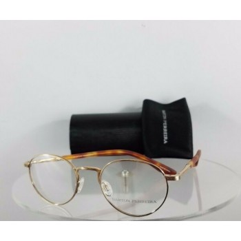 Brand New Authentic Barton Perreira Eyeglasses Fitzgerald Gold 47mm Frame