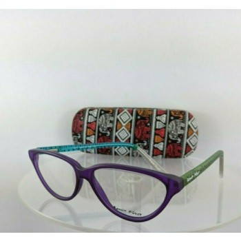 Brand New Authentic Ronit Furst Rf 3471 Mg Hand Painted Eyeglasses 56Mm Frame