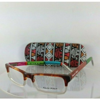 Brand New Authentic Ronit Furst Rf 4621 Lhc Hand Painted Eyeglasses 49Mm Frame