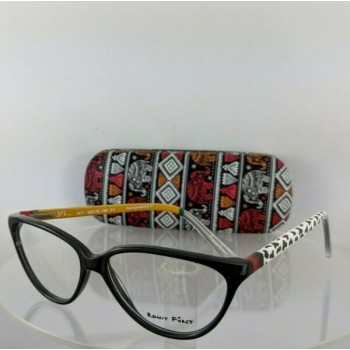 Brand New Authentic Ronit Furst Rf 3471 3Tz Hand Painted Eyeglasses 56Mm Frame
