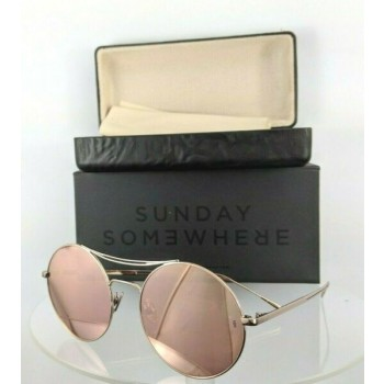 Brand New Authentic Sunday Somewhere Sunglasses Goldie 151- Ros 54Mm Frame