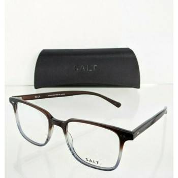 Brand New Authentic SALT Eyeglasses CARL CD Brown Two Toned Colored Frame 51mm