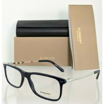Brand New Authentic Burberry Eyeglasses BE 2282 3399 Navy 55mm Frame 2282 -F