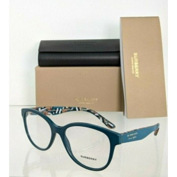 Brand New Authentic Burberry Eyeglasses BE 2278 3743 Green 54mm Frame 2278