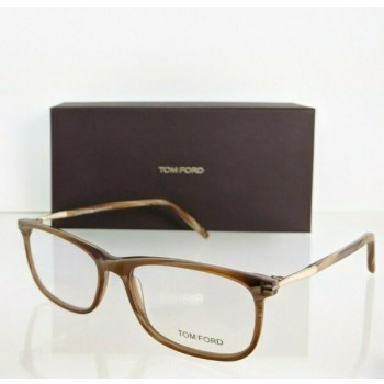 Brand New Authentic Tom Ford Eyeglasses FT TF 5398 062 55mm Horn TF5398