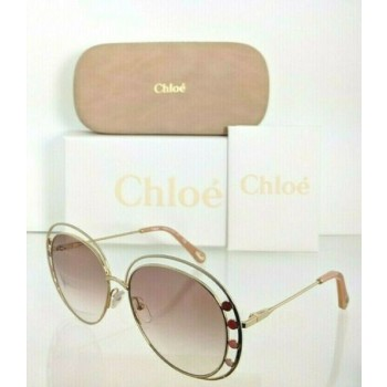 Brand New Authentic Chloe Sunglasses CE 169S 742 57mm Gold 169 Frame