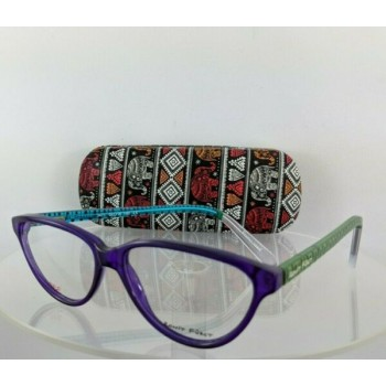 Brand New Authentic Ronit Furst Rf 3471 T19M Hand Painted Eyeglasses 56Mm Frame