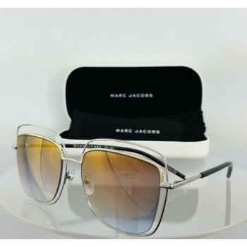 Brand New Authentic Marc Jacobs 9/S TWM Silver Frame 54mm 9