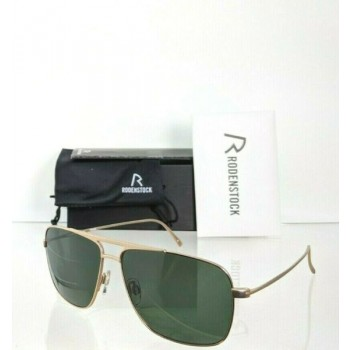 Brand New Authentic Rodenstock Sunglasses R 7414 C Gold Frame