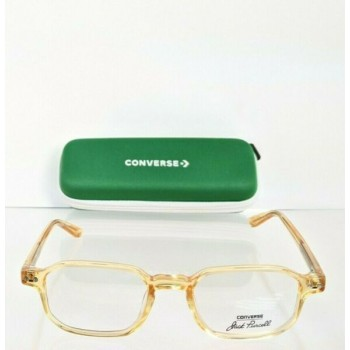 Brand New Authentic Converse Eyeglasses P001 UF Yellow Crystal 49mm Frame