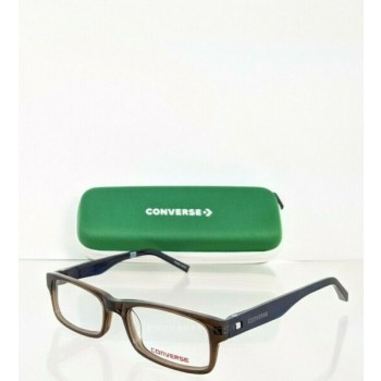 Brand New Authentic Converse Eyeglasses K011 Brown 47mm Frame