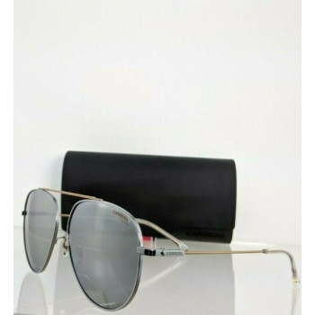Brand New Authentic Carrera Sunglasses 188/G/S TNGT4 Silver 59mm Frame