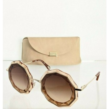 Brand New Authentic Chloe Sunglasses CE 160S 724 52mm Gold 160 Frame