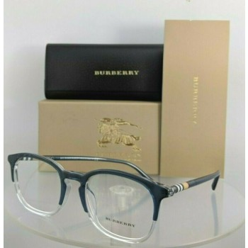 Brand New Authentic Burberry BE 2272 Eyeglasses 2272F Blue Clear 51mm Frame