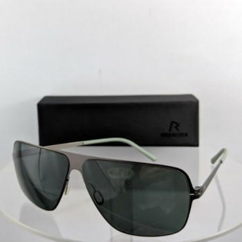 Brand New Authentic Rodenstock Sunglasses R 1412 A Black Frame 63mm