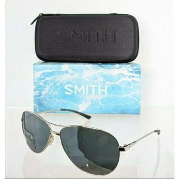 Brand New Authentic Smith Optics Sunglasses Langley Carbonic Silver ODN Frame