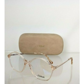 Brand New Authentic Chloe Eyeglasses CE 2750 749 54mm Pink & Gold 2750 Frame