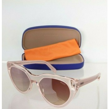 Brand New Authentic Emilio Pucci Sunglasses EP 82 74F Pink Frame EP82 57mm