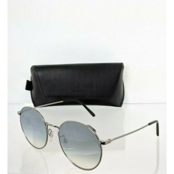 Brand New Authentic Bally Sunglasses BY 0013 12C BY0013 54mm Silver Frame